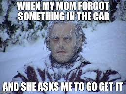 Snow Memes - jack nicholson the shining snow memes imgflip