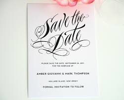 ravishing script save the date cards save the date cards by shine