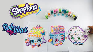 shopkins cupcake queen kooky cookie cheeky chocolate with dohvinci