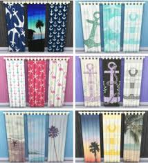 sunshine u0026 roses custom content beach themed full curtains u2022 sims