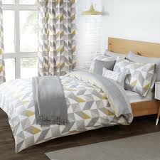 Yellow And Grey Bed Set Grey And Yellow Duvet Cover Sweetgalas