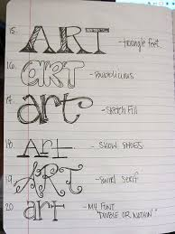 lesson 4 fonts lettering styles and handwriting fonts