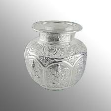 silver pooja kalash view specifications details of silver