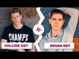 Challenge Alx Collins Key Vs Devan Key August 2017 New Musically Compilation