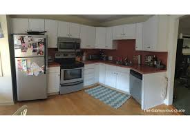 Diy Kitchen Cabinets Makeover Diy Kitchen Countertop Makeover U2022 The Glamourous Guide