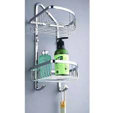 Bathroom Shelves Home Depot Bathroom Racks Chrome Wall Mounting Two Tier Shelf With Towel Bars