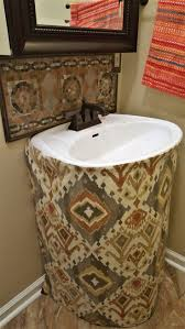 Skirt For Pedestal Sink by 10 Best Home Half Bath Makeover Images On Pinterest Half Baths