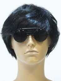 g u0026g smoke dwayne wayne round flip up glasses sunglasses black frame