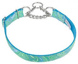 paisley ribbon buy green paisley ribbon half check dog collar online