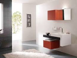 Black Painted Bathroom Cabinets Taking An Inspiration From Small Space For Splendid Floating