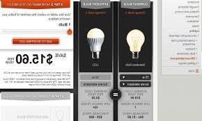 led light energy calculator led light bulb savings calculator best efficient standard ls