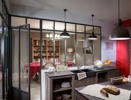 cloison vitree cuisine salon cloison verre cuisine awesome cuisine avec cloison vitre with