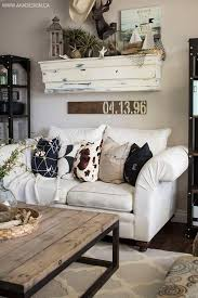 Rustic Living Room Chairs Astounding Rustic Living Room Design With Brown Leather Sofa Arms