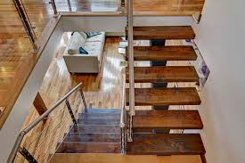 Stairs In House by House Interior Design Of Luxury Log Home With Twin Indoor Stairs