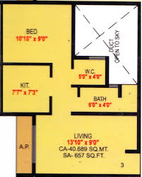design dump floor plan of our new house idolza rudis infra shivalik in sil phata mumbai price location map floor plan 1bhk2t sq ft