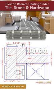 floor radiant floor electric on floor how to install radiant heat