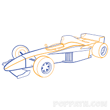 punch buggy car drawing how to draw a f1 u2013 formula one car u2013 pop path