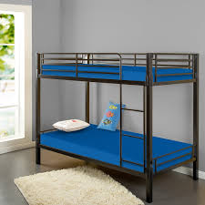 What Is A Trundle Bed Amazon Com Zinus Sleep Master Memory Foam 5 Inch Bunk Bed