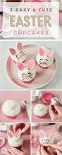Easter Cupcake Decorations Pinterest by Best 25 Bunny Cupcakes Ideas On Pinterest Easter Bunny Cupcakes
