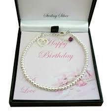 birthstone bracelet for birthstone bracelet for 21st birthday sterling silver