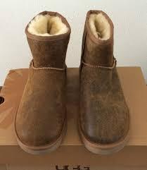 mens 8 ugg classic short boots mini bomber jacket chestnut 1007307