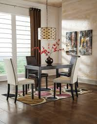 ashley signature design kimonte 5 piece counter table set with