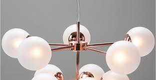 Globes For Chandelier Copper Glass Chandelier Pendant Light Globe Made
