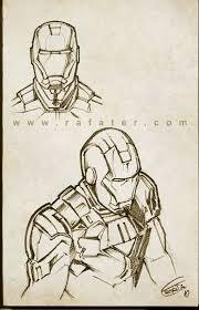 iron man sketch 02 by rafater on deviantart