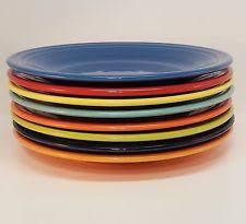 fiestaware plates china dinnerware ebay
