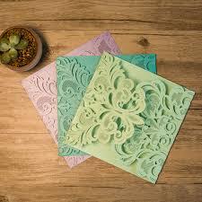 wholesale wedding invitations gorgeous lace pocket laser cut wholesale wedding invitation card
