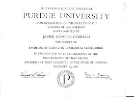 Purdue Resume Javier Romero Gerbaud