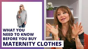 Stores That Sell Maternity Clothes 6 Things To Know Before Buying Maternity Clothes Youtube