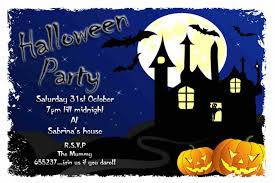 templates invitations ideas free halloween invitation templates