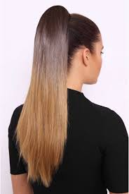Show Pony Hair Extensions by Straight Ombre Luxe 20