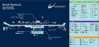 detroit metro airport map the layover detroit metro airport s terminal