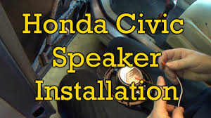 2006 honda civic speakers honda civic speaker installation 2006 2006 2011 similar