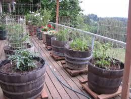 patio garden planters garden flower tubs planters handmade wooden