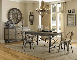 industrial dining room table industrial style dining room tables contemporary with photo of