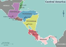 Map Of Mexico And Central America by File Map Of Central America Svg Wikimedia Commons