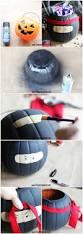 Diy Ninja Trick Or Treat Bucket 1 Pumpkin Makeover The