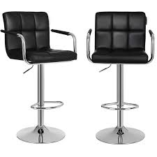 white bar stools with backs and arms kitchen bar stools with arms armrests backs and counter armrest