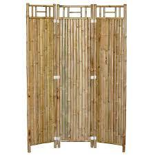 Room Dividers In Walmart - 3 panel outdoor bamboo room divider walmart com