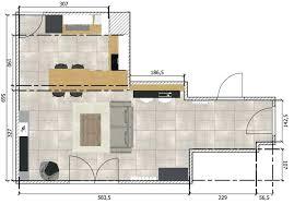 plan cuisine ouverte sur salon plan cuisine ouverte salon séjour rayonnage cantilever