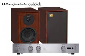 wharfedale denton 80 anniversary bookshelf speakers and audiolab