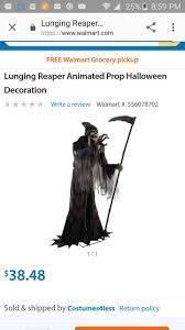 38 misprint at walmart online lunging reaper animatronic prop