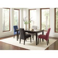 coaster dining room furniture coaster furniture 102791 anisa dining table in black homeclick com