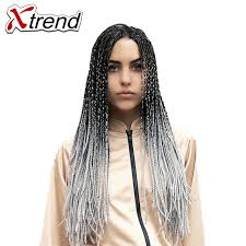 24 inch extensions online shop xtrend 24inch ombre kanekalon braiding hair extensions
