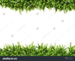 christmas garland isolated on background stock illustration