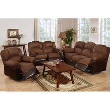 Microfiber Reclining Sofa Sets Furniture Cheap Gray Loveseat Power Sofa And Loveseat