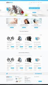 adamas responsive woocommerce shop wordpress commerce themes